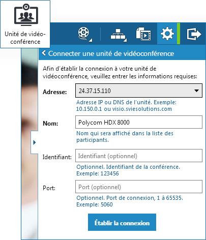 panneau vidéoconférence